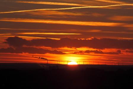 Foto Nr.1 Sonnenuntergang