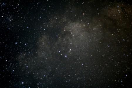 Milchstraße zwischen Adler und Schild 2