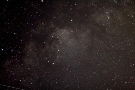 Milchstraße zwischen Adler und Schild